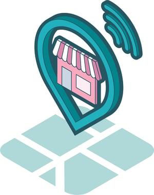 Logo produit référencement local et gestion d'avis Ubiflow