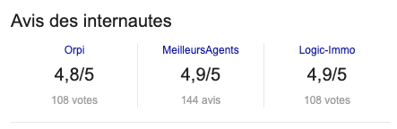 Apercu-score-avis-internaute-fiche-google-my-business-agence-immobiliere-orpi