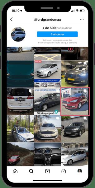 post-instagram-page-hashtag-automobile