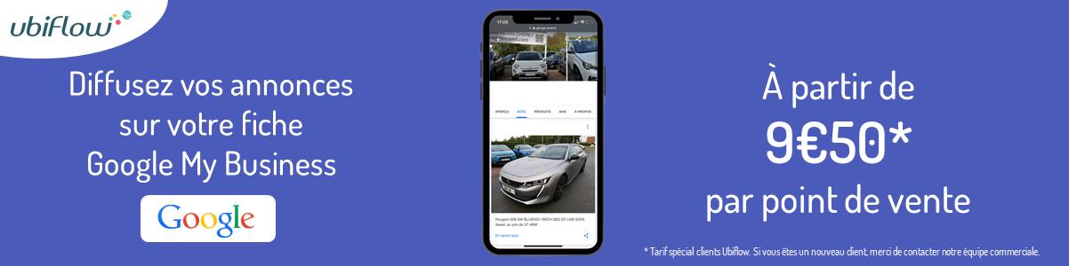 diffusion annonces automobiles fiche google my business