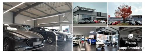 Photos automobiles fiche google my business